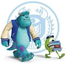 sulley en monsters university monsters university