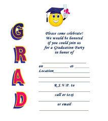 college graduation announcements templates 40 free graduation invitation templates template lab