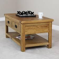 pleasant medium oak coffee table in home decor interior design