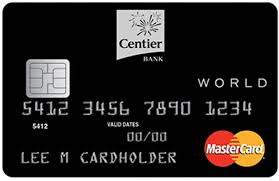 Indiana Travel Credit Cards images Centier personal credit cards low rate world preferred points jpg