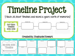 life timeline activity for students student timeline project