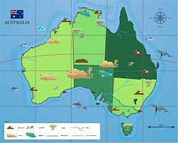 map of aus bot mat australia map