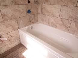 bathtubs fascinating tiling a bathtub 98 garden tub tile wrap