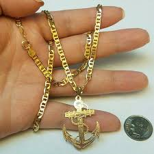 gold filled necklace images Handmade accessories new peruvian set men 14k gold filled chain jpg