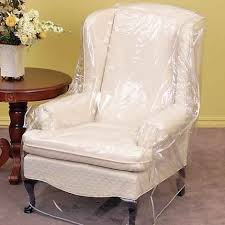 plastic chair covers clear vinyl furniture protector chair recliner