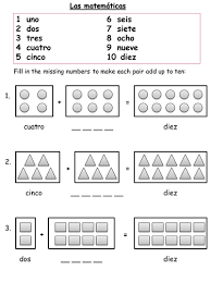 spanish numbers worksheets by shropshire14 teaching resources tes