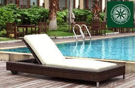 chaise en r sine tress e chaise longue en resine tressee 12 avec miadomodo bain de soleil r