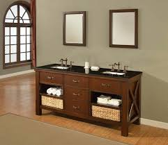 craftsman bathroom vanity cabinets j j international 70 inch double bathroom vanity with black