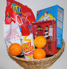 Cheese And Cracker Gift Baskets Edible Gift Basket Ideas