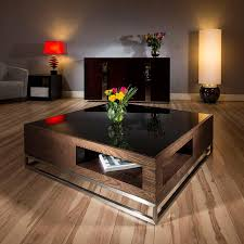 rustic large coffee table square amaze dark wood thippo