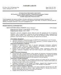 Hr Generalist Sample Resume by Download 10 Samples Of Professional Resume Formats Esc