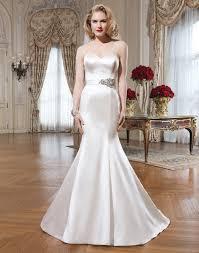 gorgeous satin mermaid wedding dresses cherry marry