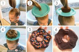 hairstyles with a hair donut 25 clever ideas for wacky hair day at school including