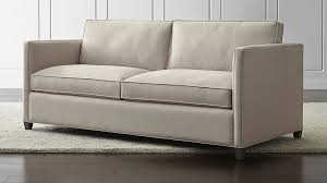 Small Modern Sofas Dryden Small Modern Sofa In Sofas Reviews Crate And Barrel