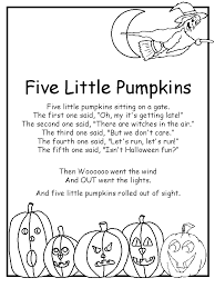 Little Lights Daycare Five Little Pumpkins Poem Love This Used To Sing It At A Daycare