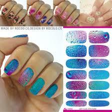 aliexpress com buy rocooart k5640 nail art stickers mysterious