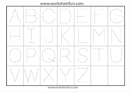 letter tracing worksheets gplusnick