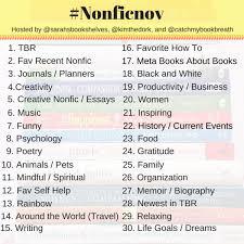 Challenge Instagram A Nonfiction November Instagram Challenge