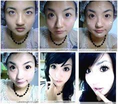 makeup makeup hair beauty hope in healthiness makeup asian makeup ulzzang nails hair una otaku transformation