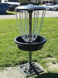 How To Make A Golf Green In Your Backyard by Disc Golf Goal All Parts From Lowes Inexpensive 6 Steps With