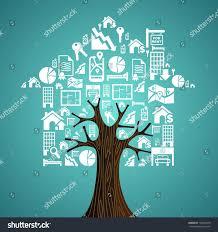 real estate white icon set house stock vector 146426378