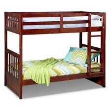 Bunk Bed Sets With Mattresses Ranger Bunk Bed Merlot Value City Furniture And