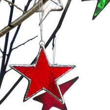 Stained Glass Christmas Window Decorations by Shop Stained Glass Window Ornaments On Wanelo