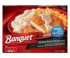 banquet chicken fried chicken meal 10 1 ounce walmart com