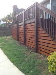 lattice alternative under the deck so easy modern backyard