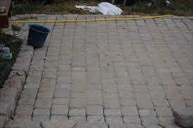 cobblestone patio project progress report growing the home garden