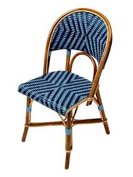 Blue Bistro Chairs Matignon Authentic Cafe Chairs Bistro Tables