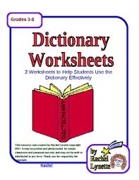 dictionary by rachel lynette teachers pay teachers