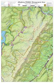 Ohio Public Hunting Land Maps by West Virginia Dnr Wma Map Project