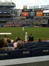 yankee stadium section 113 row 12 home of new york yankees new