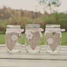Burlap Wedding Centerpieces by These Are Ridiculously Cute Mason Jars Use Them For Centerpieces