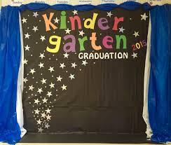 kindergarten graduation backdrop door wall decoration