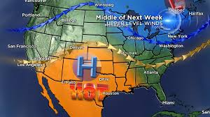 Weather Map Los Angeles by Mild Weather Sticking Around For The Weekend Cbs Dallas Fort Worth