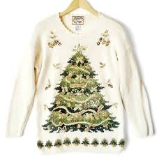big tree tacky sweater the sweater