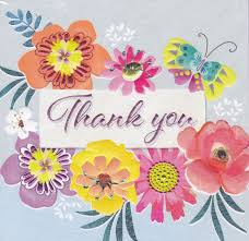 thank you cards flowers butterfly thank you card karenza paperie