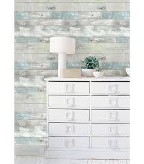 wallpops nuwallpaper beachwood peel and stick wallpapernull