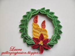 christmas quilling quilling my passion quilled christmas