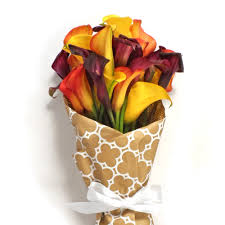 halloween flowers halloween calla lily bouquet order now at calcallas com
