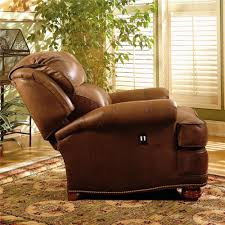 tilt back chair with ottoman upholstered tilt back reclining chair ottoman by smith brothers