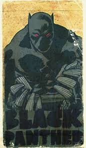 Black Panther Marvel Halloween Costume Black Panther Comic Book Art U0027jays