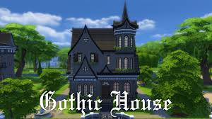 the sims 4 house building gothic house youtube