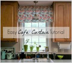 top it off easy cafe curtain idea robin kramer writes