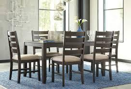 rokane 7 piece dining room set signature design furniture cart