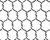 small chicken wire wallpaper wall stencil