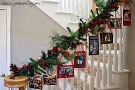 Stairs Decorations by 40 Brilliant Christmas Stairs Decorations For 2014 Year