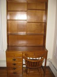Maple Desk With Hutch Ethan Allen Desk My Antique Furniture Collection